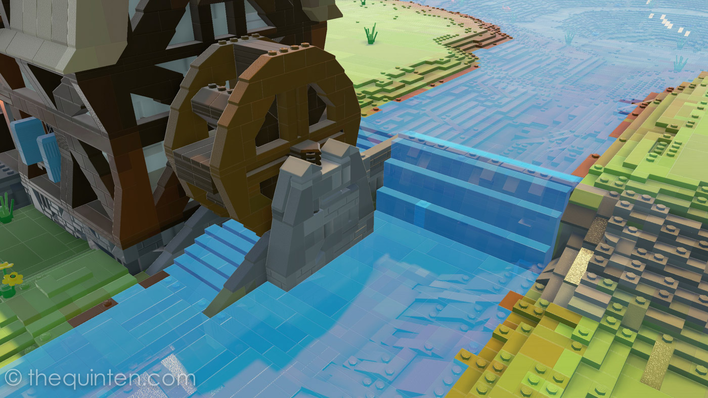 Water - A LEGO Worlds Study